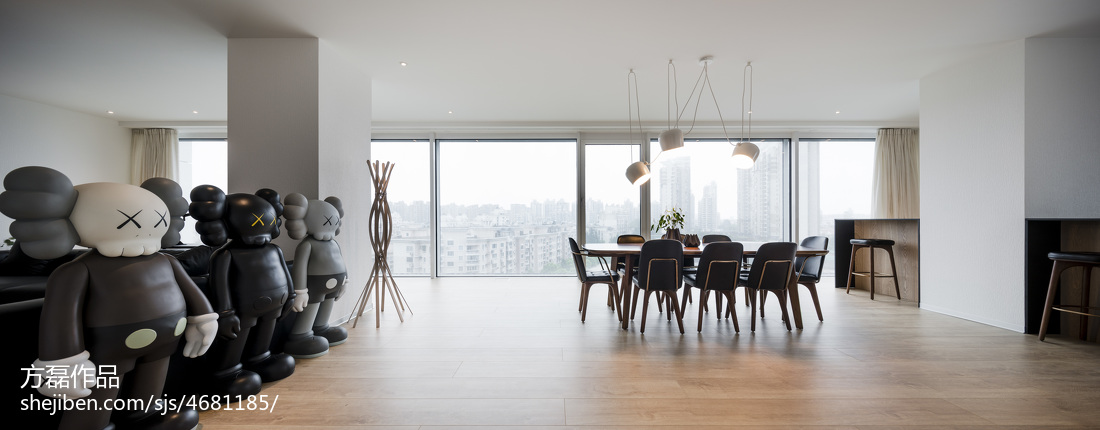 明亮现代豪宅客厅设计图片