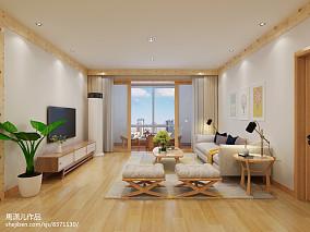 2018117平米宜家复式客厅装修设计效果图片大全