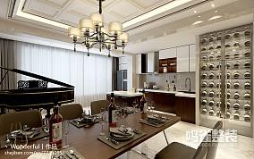 美式风格二居客厅效果图