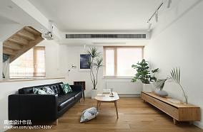 简单日式四居客厅设计图片