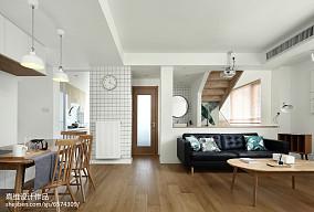精美四居客厅日式效果图片