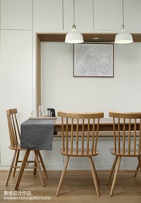 简单日式四居餐厅设计图片