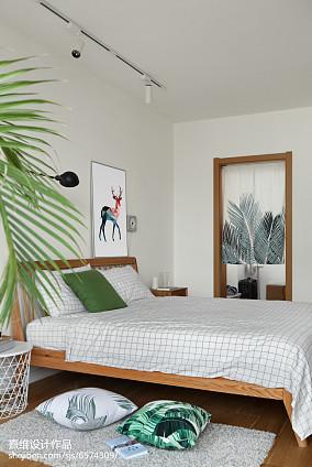 精选125平米四居卧室日式装修设计效果图