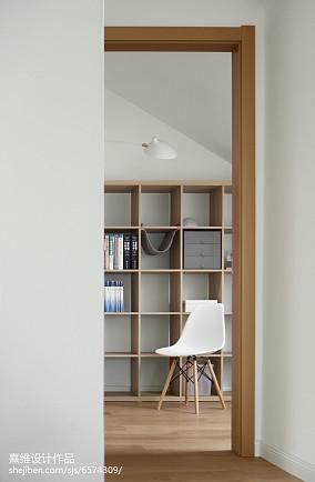 热门111平米四居书房日式实景图片欣赏