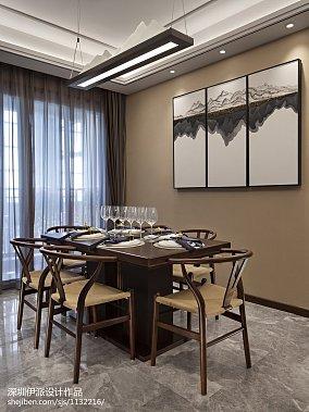 2018精选餐厅中式装修设计效果图