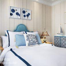 2018精选地中海卧室装修设计效果图片欣赏