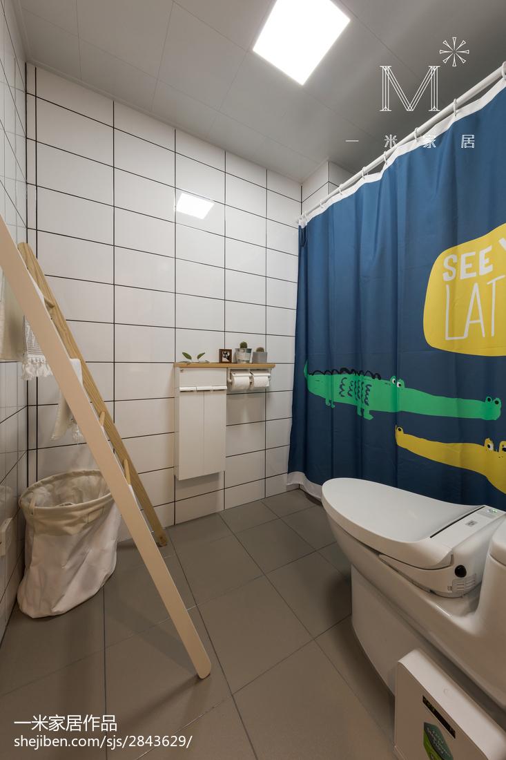 平日式三居卫生间装修图卫生间日式卫生间设计图片赏析