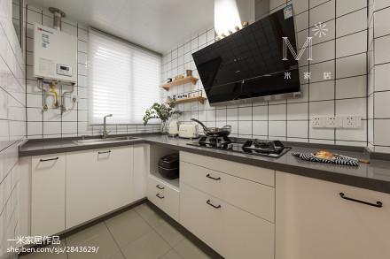 明亮119平日式三居厨房设计图餐厅