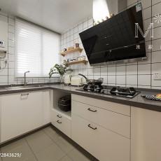 明亮119平日式三居厨房设计图