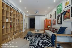 93平米三居客厅日式装饰图片大全