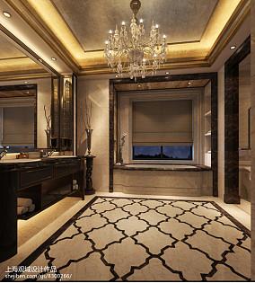 小卫生间浴缸效果图欣赏