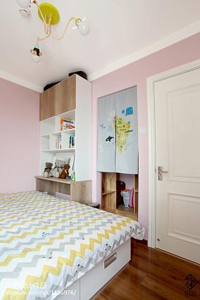 热门二居儿童房日式装修设计效果图片