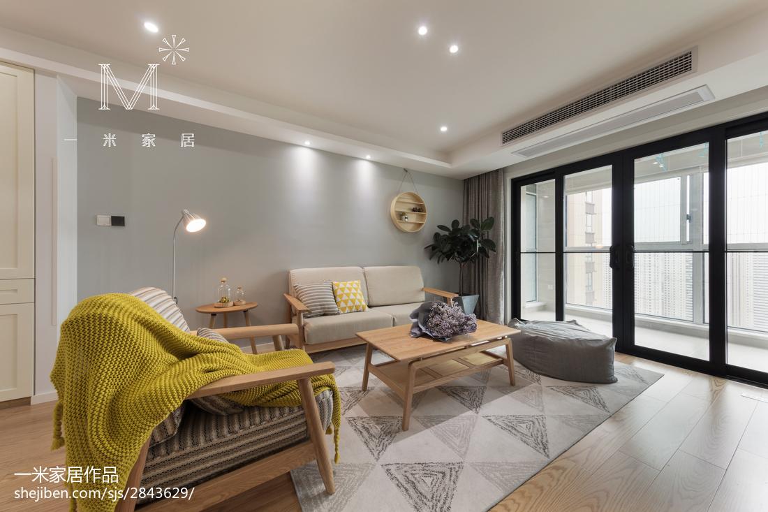 典雅87平日式三居装饰图客厅日式客厅设计图片赏析