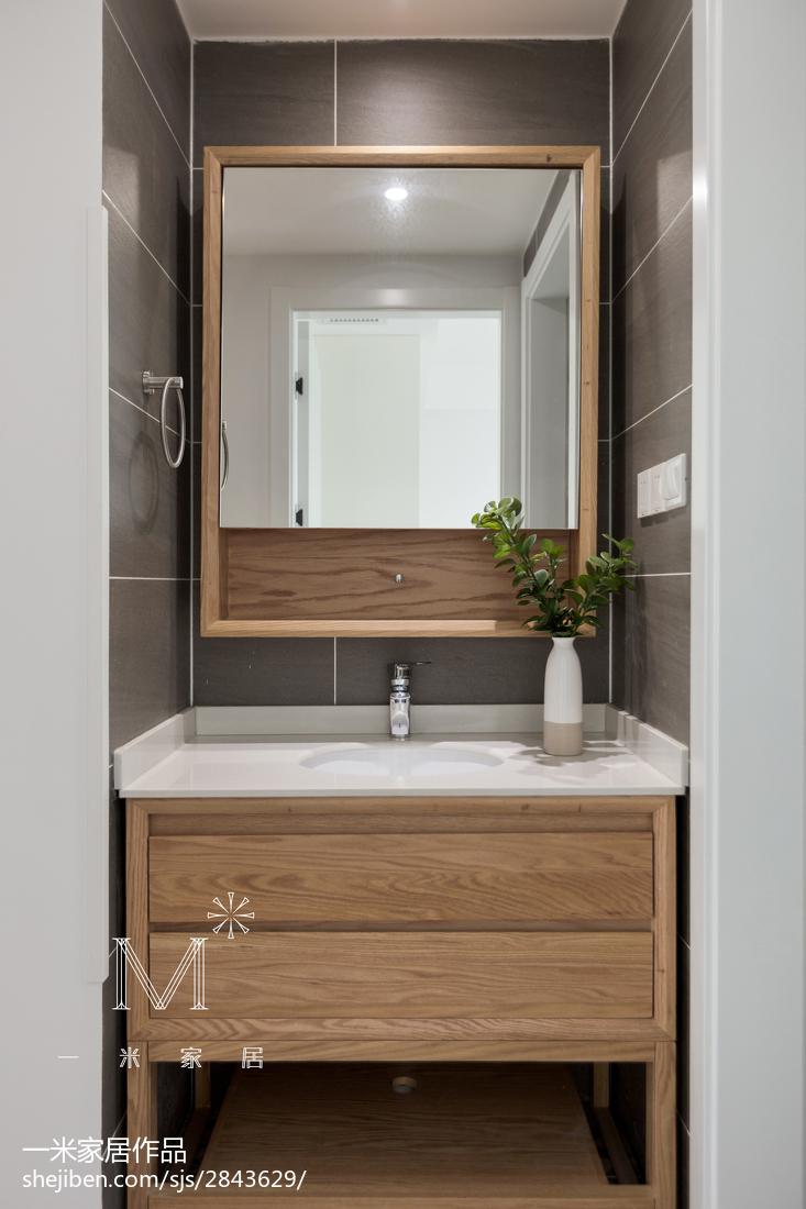 精选95平米三居卫生间日式装修设计效果图卫生间日式卫生间设计图片赏析