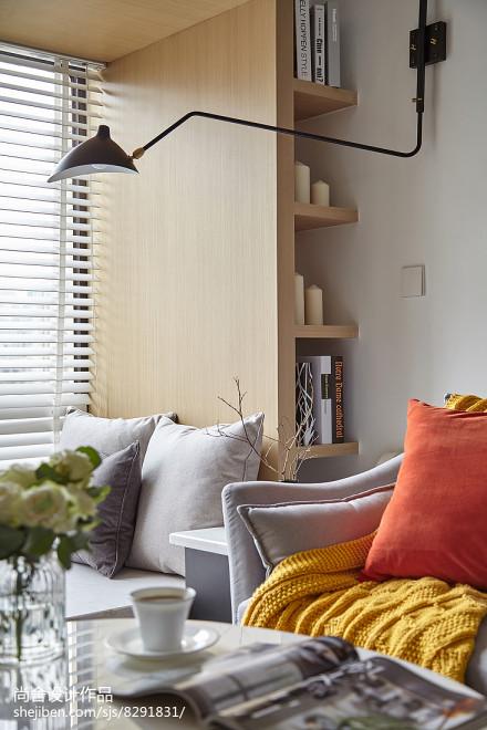 精选大小90平简约三居客厅效果图片欣赏