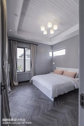 精选面积110平别墅卧室现代装修实景图片欣赏