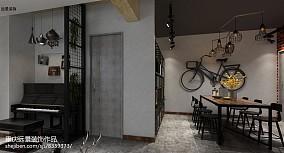 2018精选面积101平三居餐厅效果图片大全
