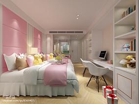 热门现代别墅卧室效果图片欣赏151-200m²别墅豪宅现代简约家装装修案例效果图
