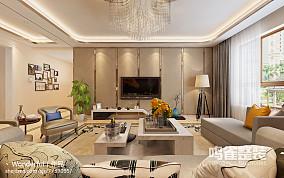 现代简约风格家庭客厅装修