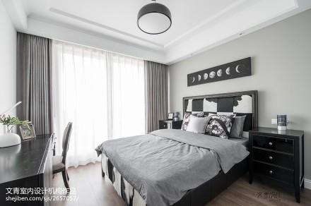 精致83平美式复式装修美图卧室