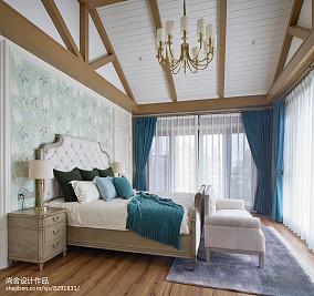 热门114平米欧式别墅卧室效果图别墅豪宅欧式豪华家装装修案例效果图