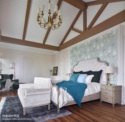 大气584平欧式别墅卧室装修图片卧室