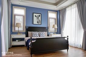 2018118平米欧式别墅卧室装修图片大全