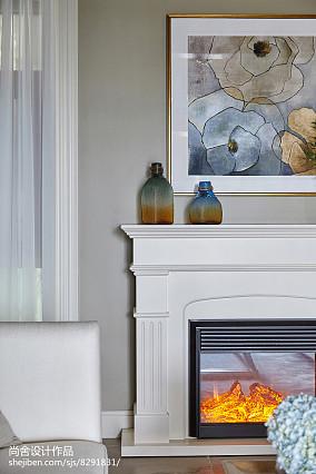 精美129平米欧式别墅客厅实景图别墅豪宅欧式豪华家装装修案例效果图