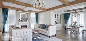 2018精选118平米欧式别墅客厅装饰图片别墅豪宅欧式豪华家装装修案例效果图