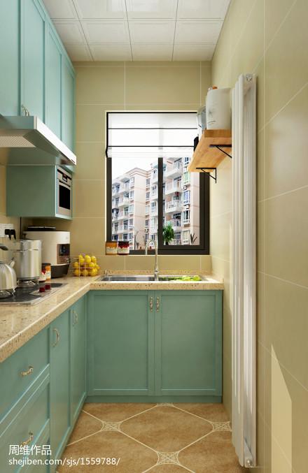 华丽52平混搭二居厨房设计美图餐厅