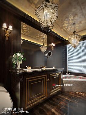 美式风格卧室衣柜图