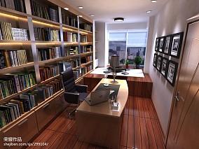 精选102平米三居书房简约装修欣赏图片