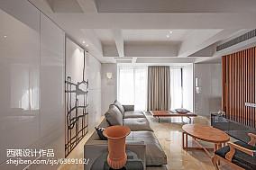 热门142平米东南亚别墅客厅装修图片大全