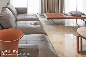 精选别墅客厅东南亚实景图片