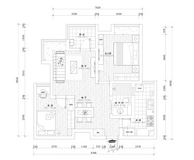 葡京茶餐厅餐区装修设计