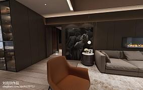 精美102平米三居客厅装修欣赏图