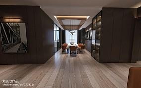 2018面积90平三居餐厅效果图片欣赏