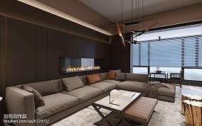 精选面积103平三居客厅装修实景图