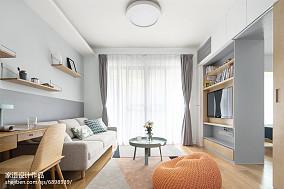 面积85平混搭二居客厅实景图片欣赏客厅1图潮流混搭设计图片赏析