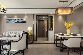2018大小91平中式三居客厅效果图片三居中式现代家装装修案例效果图