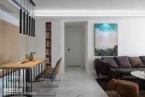 典雅103平现代四居餐厅实景图片