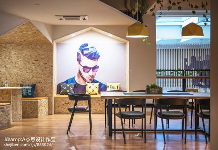 精美复式客厅装饰图片复式潮流混搭家装装修案例效果图