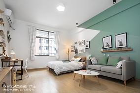 精美124平米复式卧室实景图片