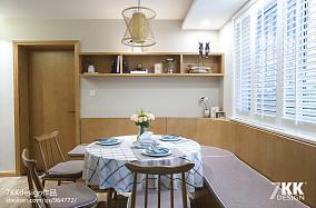 华丽88平日式二居餐厅设计案例