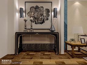 4室2厅2卫装修图客厅设计欣赏