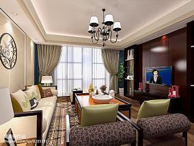 4室2厅2卫装修图客厅设计