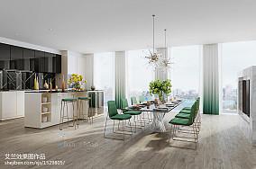 美式风格家庭客厅装饰图片