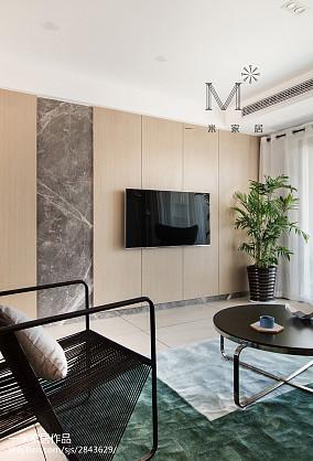 2018大小94平现代三居客厅效果图片欣赏