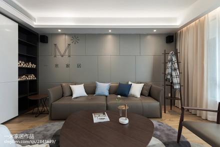 92平客厅三居现代装饰图片欣赏