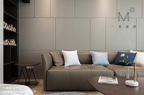 精美79平现代三居客厅装饰图121-150m²三居现代简约家装装修案例效果图